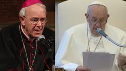 Bp Schneider: Nie da się obronić słów papieża Franciszka o związkach homoseksualnych - miniaturka