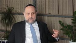 Schudrich o sporze polsko-izraelskim: Jestem optymistą   - miniaturka