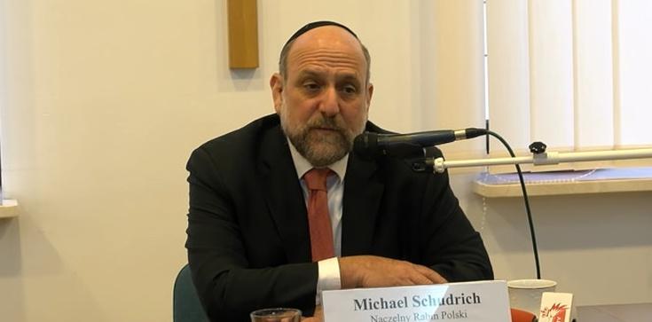 Naczelny Rabin Polski: Katolicy i Żydzi muszą szukać przestrzeni do wspólnego działania  - zdjęcie