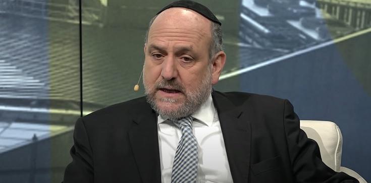 Rabin Schudrich w Senacie mówił o nowelizacji Kpa: To kwestia przykazania ,,Nie kradnij'' - zdjęcie