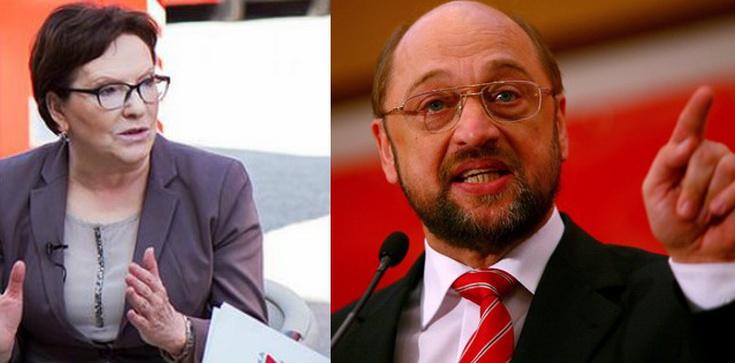 Kopacz u Schulza. Poznamy prawdziwy kontyngent uchodźców! - zdjęcie
