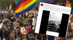 Transpłciowiec zaatakował feministki na paradzie, bo… miały ,,transfobiczny'' transparent - miniaturka