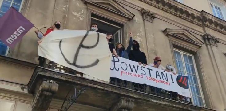 Nawet dziś nie odpuścili… Aktywiści LGBT chcieli zakłócić Marsz PW - zdjęcie