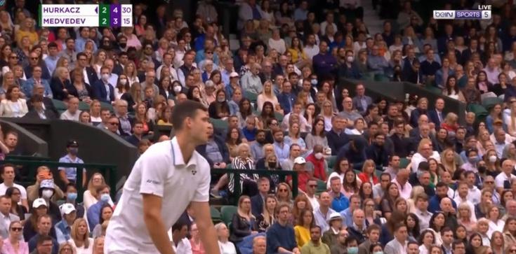 Sensacja na Wimbledonie! Hurkacz pokonał drugą rakietę świata  - zdjęcie