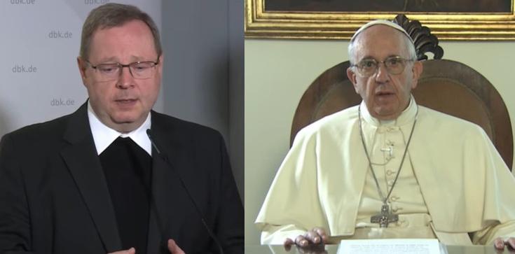 Niemiecka ,,Droga Synodalna'' obejmie cały Kościół? Papież spotkał się z bp. Bätzingem - zdjęcie