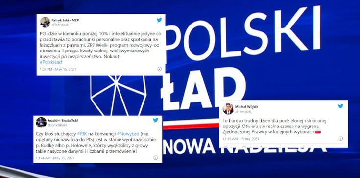 To bardzo trudny dzień dla opozycji! Komentarze po prezentacji Polskiego Ładu  - zdjęcie