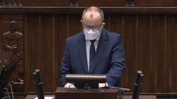 Bodnar ostatni raz wystąpił w Sejmie. Wicemarszałek przedłużyła wystąpienie  - miniaturka