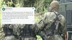 ,,Pożyteczni idioci'' czy agenci Putina? Grupa osób próbowała wywieźć imigrantów spod granicy  - miniaturka