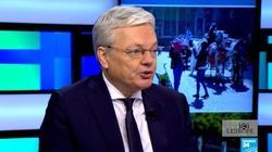 Bezczelny list unijnego komisarza! Reynders chce dyktować warunki szefowi polskiego rządu  - miniaturka