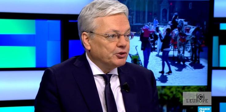 Bezczelny list unijnego komisarza! Reynders chce dyktować warunki szefowi polskiego rządu  - zdjęcie