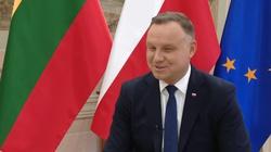 Prezydent w litewskiej telewizji: To KE i TSUE naruszają praworządność! - miniaturka