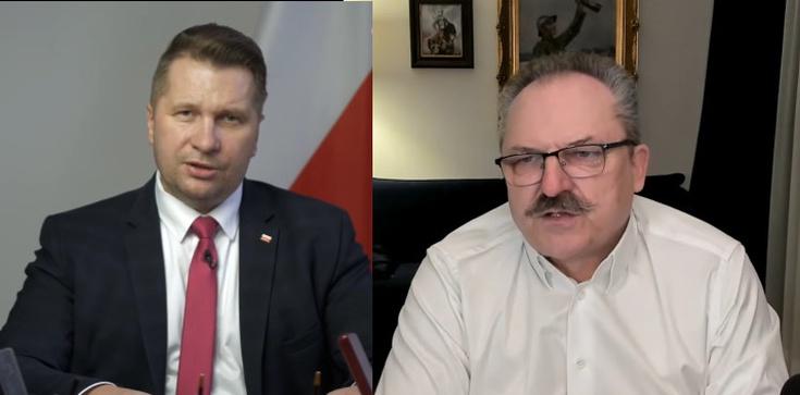 ,,Nowoczesny faszyzm, goebbelskie metody''. Jakubiak o ataku na ministra Czarnka  - zdjęcie