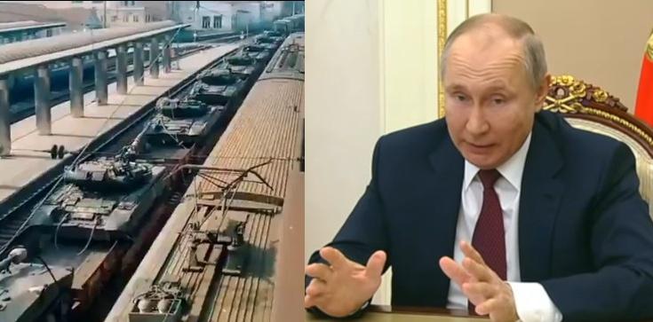 Niepokojące nagrania z Rosji. Putin przygotowuje się do uderzenia na Ukrainę?  - zdjęcie