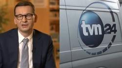 TVN – wolne media? Morawiecki: Wolne żarty!  - miniaturka