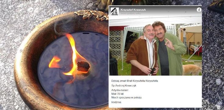Kolejna tragedia w rodzinie Krawczyków. Zmarł brat legendarnego muzyka  - zdjęcie