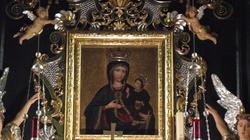 Pęknięcia na cudownym obrazie Matki Bożej Rychwałdzkiej  - miniaturka