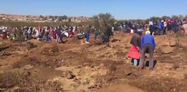 Prawdziwa ,,gorączka złota'' w RPA. Pasterz znalazł ogromny diament - zdjęcie