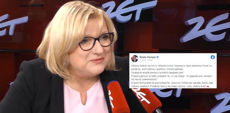 Beata Kempa: Szukajcie współczesnych polskich targowiczan! - zdjęcie