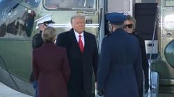 Trump odleciał na Florydę. Biden rozpoczął kadencję Mszą Świętą - miniaturka