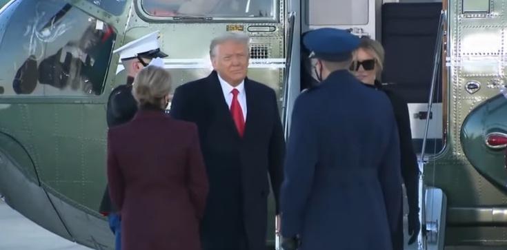 Trump odleciał na Florydę. Biden rozpoczął kadencję Mszą Świętą - zdjęcie