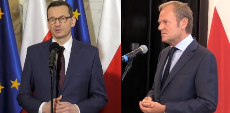 Tusk atakuje rząd ws. szczepień. Odpowiada premier Morawiecki - zdjęcie