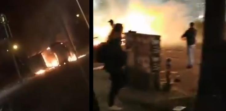 Wstrząsające obrazki z Niemiec i Francji. Tak Europa 'wita' Nowy Rok - zdjęcie