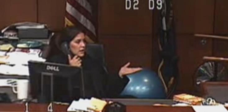 Sędzia, która okazała się człowiekiem ZOBACZ WIDEO - zdjęcie
