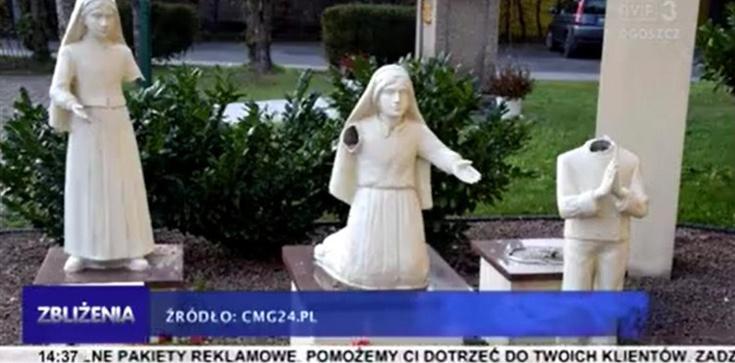 Dewastacje kościołów się nie kończą. Zniszczono figury dzieci fatimskich - zdjęcie