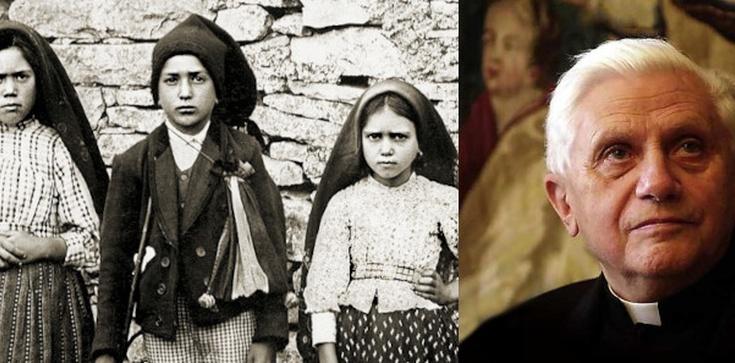 III Tajemnica Fatimska mówi o przeszłości? Wyjaśnia kard. Ratzinger  - zdjęcie