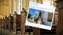 Fala ataków na kościoły w Kanadzie. Zdewastowano pomnik JPII - miniaturka