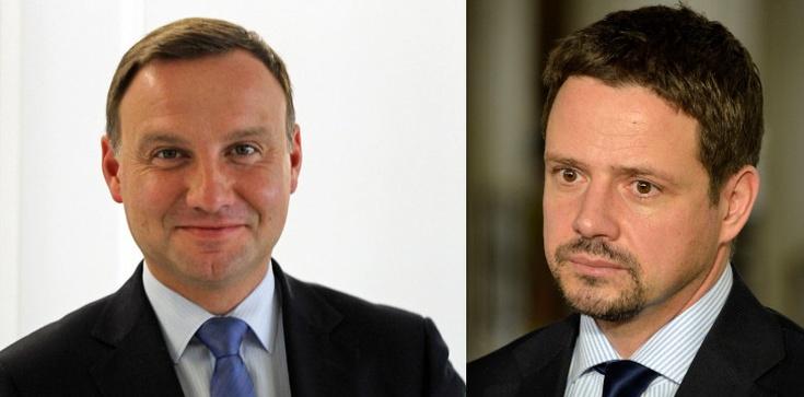 Sondaż dla TVN: Trzaskowski dogania prezydenta - zdjęcie