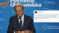 Tusk zajął już stanowisko… po stronie Brukseli  - miniaturka