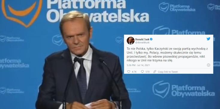 Tusk zajął już stanowisko… po stronie Brukseli  - zdjęcie