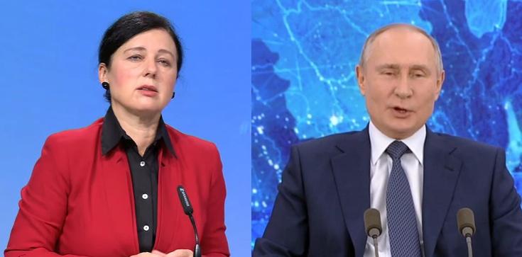 Wiceszefowa KE: Aby podzielić Europę, Putin zabija niewinnych ludzi - zdjęcie