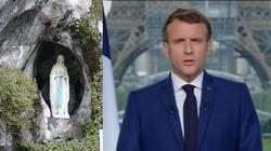 Francuzi na nowo odkrywają Lourdes. Sanktuarium odwiedził prezydent Macron  - miniaturka