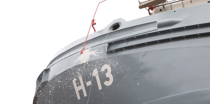 Marynarka Wojenna RP silniejsza o dwa nowe okręty - zdjęcie