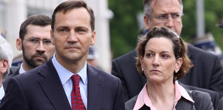 Sikorski z Applebaum na łamach GW plują na rząd. 'Europa puka się w czoło'... - zdjęcie