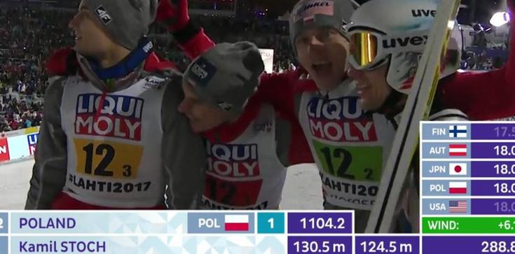 Polacy wygrywają mistrzostwa świata w Lahti!!! - zdjęcie
