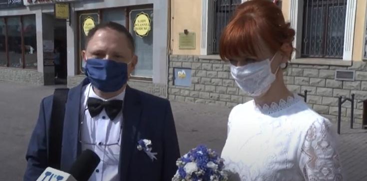 Koronapanika: ,,Jak nie może być wesela to nie bierzemy ślubu'' - zdjęcie