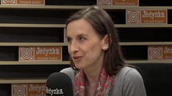 Sylwia Spurek w przebraniu walczy o prawo do aborcji przed PE - miniaturka