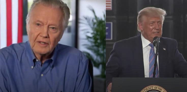 Jon Voight: Musimy wraz z Bogiem chronić USA. Musimy zagłosować na prezydenta Trumpa - zdjęcie