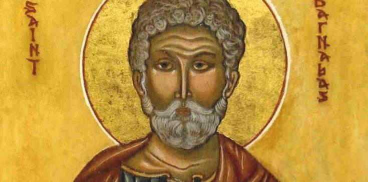 Święty Barnaba, Apostoł – To on przygarnął św. Pawła po nawróceniu - zdjęcie