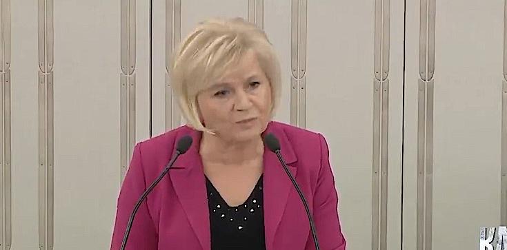 Senat: Lidia Staroń wsparła PiS. Mocne wystąpienie! [ZOBACZ] - zdjęcie