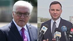 Wspólna konferencja Dudy i Steinmeiera. ,,Wyraziłem swoją dezaprobatę, jeśli chodzi o Nord Stream 2'' - miniaturka