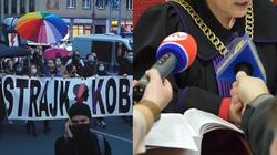 Lewicowa aktywistka Babcia Kasia przed sądem. Nawałnica wulgaryzmów - miniaturka