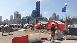Polscy strażacy już w Bejrucie - miniaturka