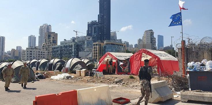 Polscy strażacy już w Bejrucie - zdjęcie