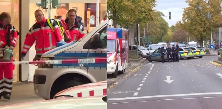 Zabici i ranni w Niemczech w dwóch napaściach z bronią - zdjęcie