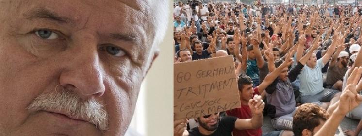Strzemecki: Szokujące dane nt. przestępstw imigrantów w Niemczech