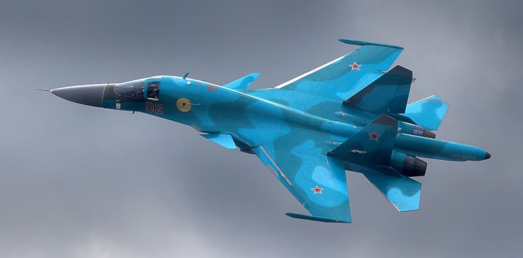 Dwa rosyjskie bombowce zderzyły się w powietrzu - zdjęcie